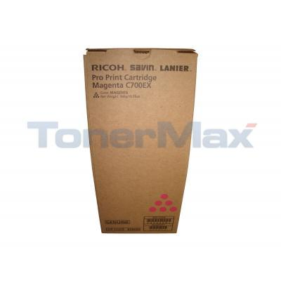 RICOH SAVIN LANIER PRO C700EX PRINT CTG MAGENTA